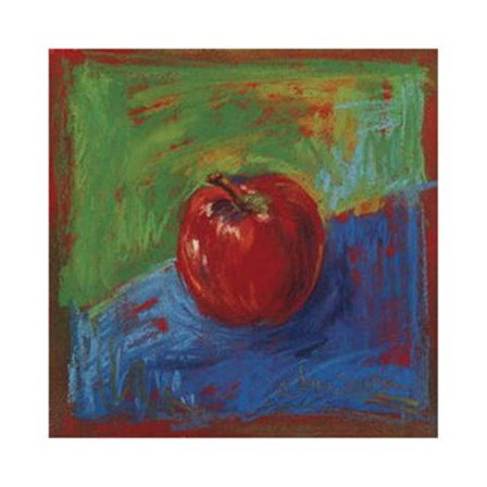 Red Apple by Joyce Shelton art print
