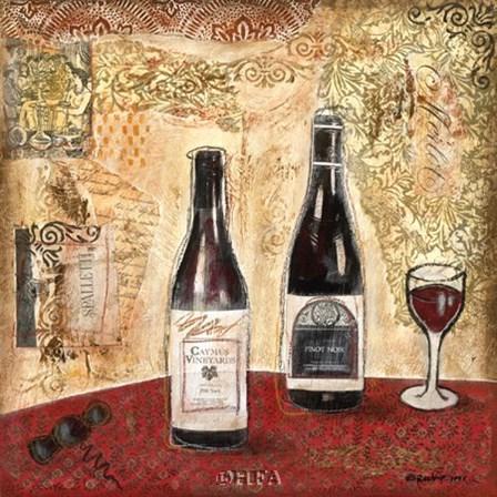 Vino II by Jodi Reeb-myers art print