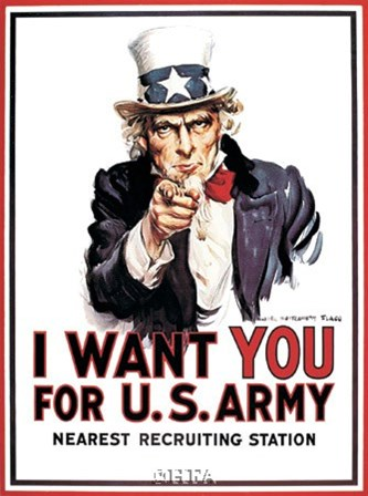 I Want You... by James Montgomery Flagg art print