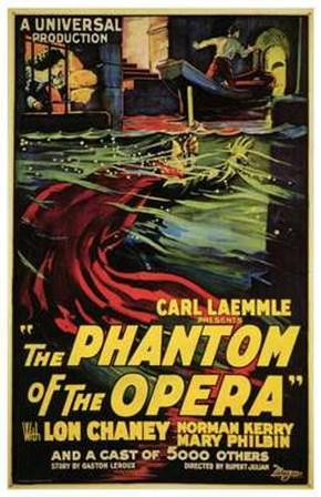 The Phantom of the Opera Carl Kaemmle art print