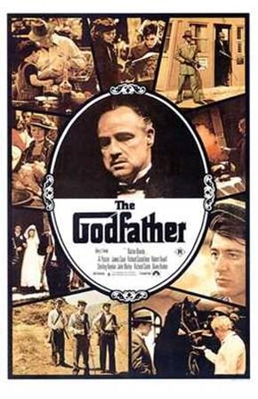 The Godfather Scenes art print