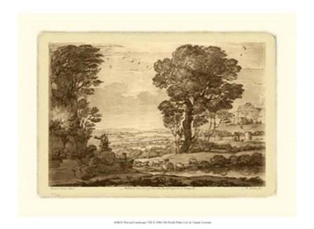 Pastoral Landscape VIII by Claude Lorrain art print