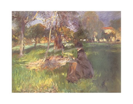 In an Orchard by John Singer Sargent art print