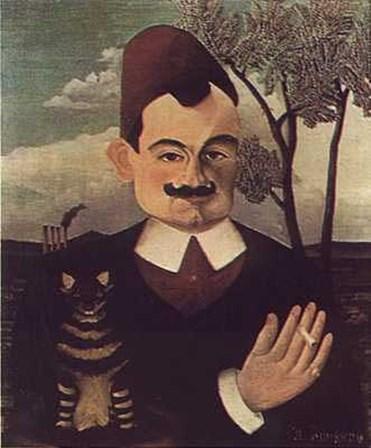 Pierre Loti by Henri Rousseau art print