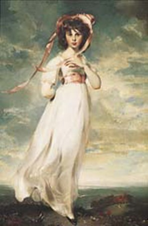 Pinkie (Sarah Barrett Moulton) by Sir Thomas Lawrence art print