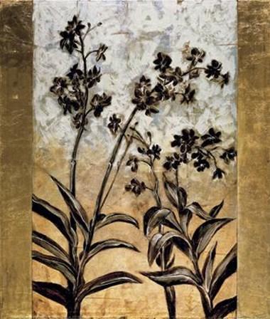 Orchid Silhouette by T.L. Lange art print