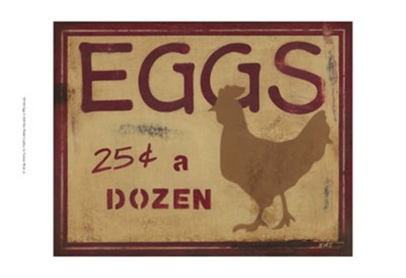 Eggs by Norman Wyatt Jr. art print