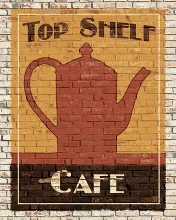 Top Shelf Cafe by Avery Tillmon art print