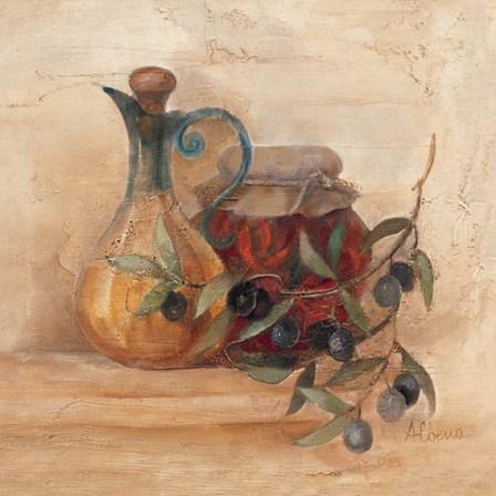 Tuscan Table IV by Albena Hristova art print