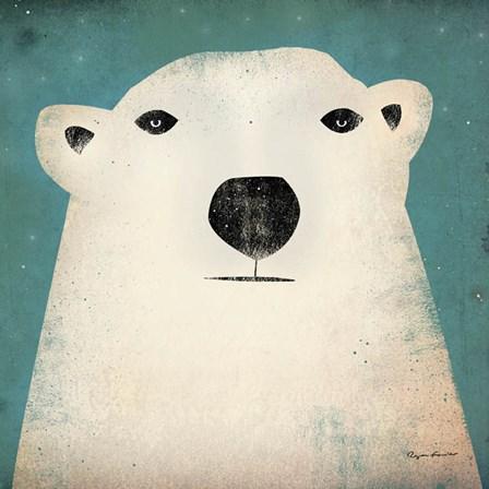 Polar Bear by Ryan Fowler art print