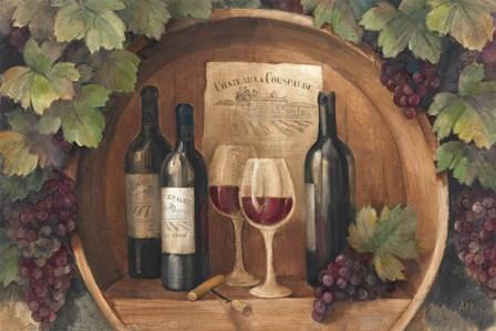 At the Winery by Albena Hristova art print
