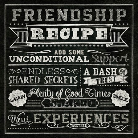 Thoughtful Recipes IV by Pela Studio art print