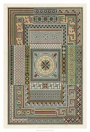 Pompeian Design by Owen Jones art print