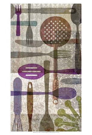 On the Table I by James Burghardt art print