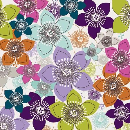 Boho Floral I by Nicole Ketchum art print