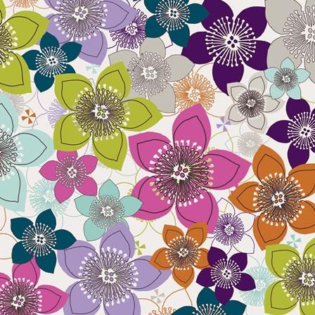 Boho Floral II by Nicole Ketchum art print