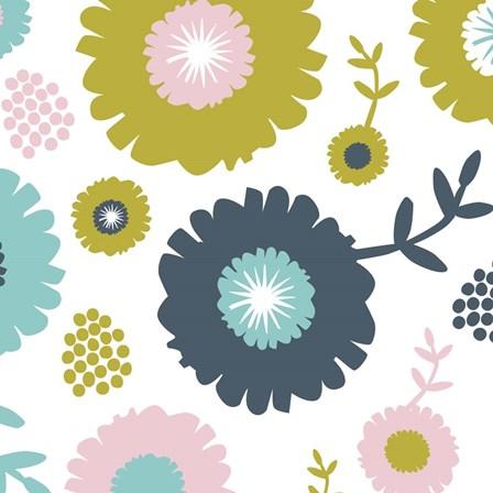 Garden Floral II by Nicole Ketchum art print
