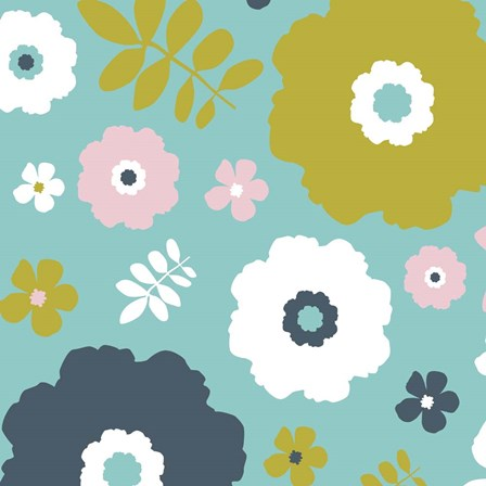 Sweet Floral I by Nicole Ketchum art print