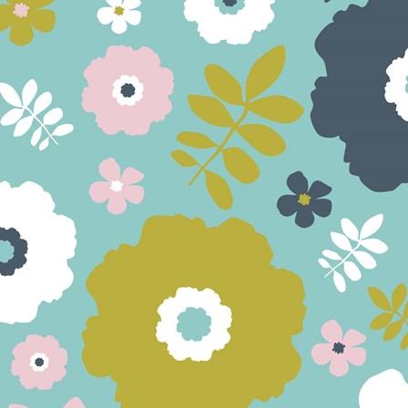 Sweet Floral II by Nicole Ketchum art print
