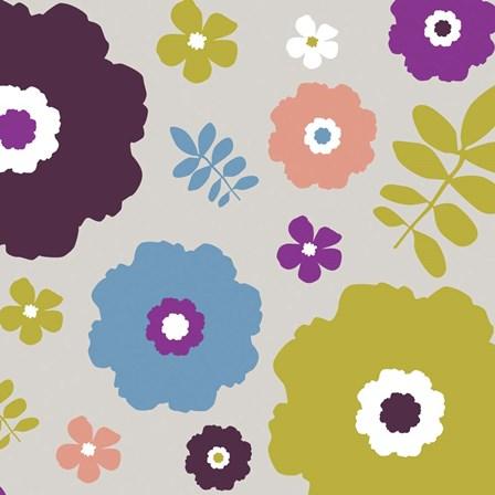 Sweet Floral III by Nicole Ketchum art print
