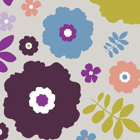 Sweet Floral IV by Nicole Ketchum art print
