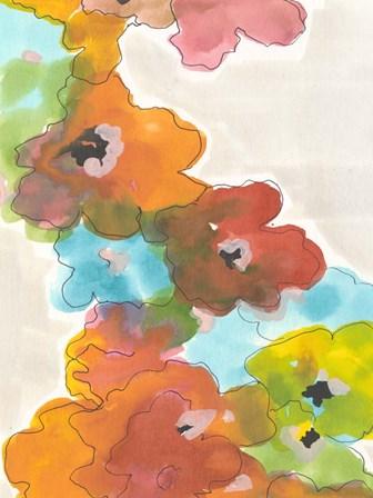 Floral Cascade II by Jodi Fuchs art print