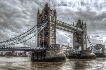 London Bridge by Giuseppe Torre art print