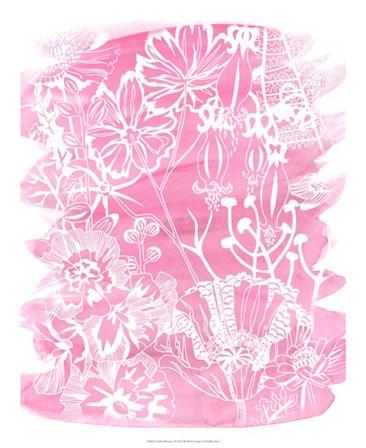 Fuchsia Bouquet I by Chariklia Zarris art print