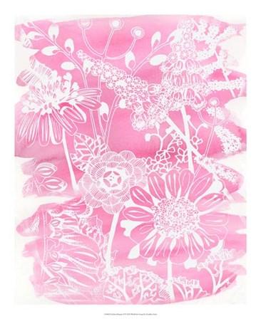 Fuchsia Bouquet II by Chariklia Zarris art print