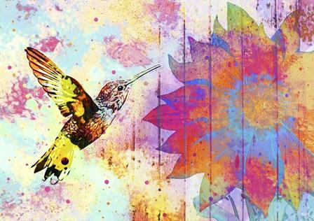 Hummingbird XVIII by Fernando Palma art print