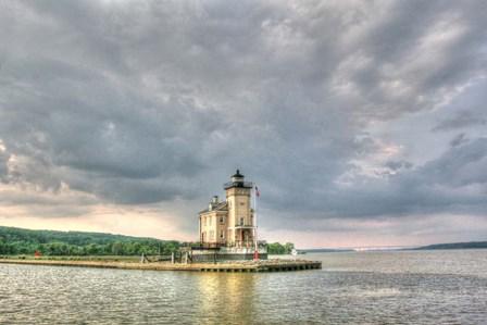 Kingston Lighthouse by Robert Goldwitz art print