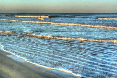 Lone Surfer by Robert Goldwitz art print