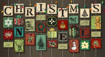 Christmas on Strings by Art Licensing Studio art print