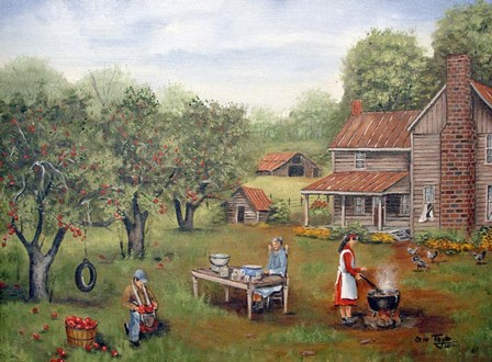 Mom's Applebutter by Arie Reinhardt Taylor art print