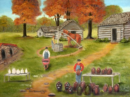 Jugtown by Arie Reinhardt Taylor art print
