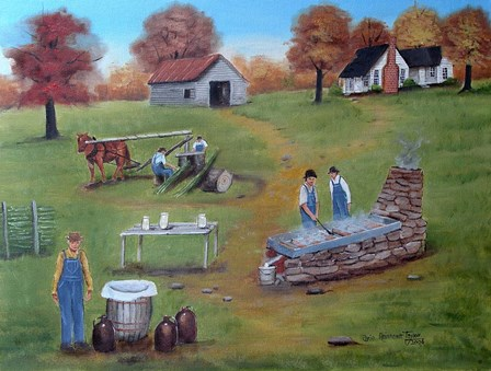 Making Molasses by Arie Reinhardt Taylor art print