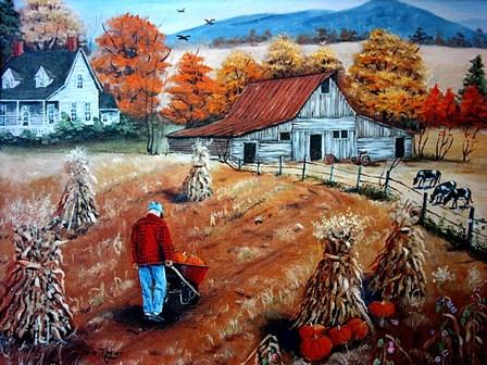 Down on The Farm by Arie Reinhardt Taylor art print