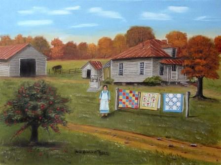 Grandma's Quilts 2 by Arie Reinhardt Taylor art print