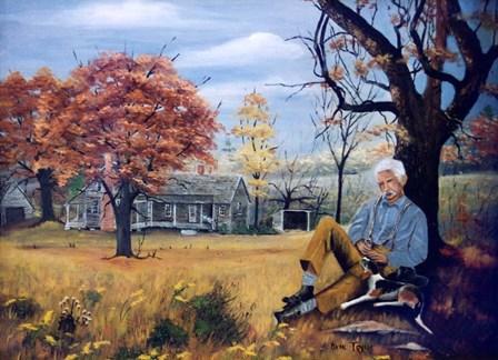 Grandpa by Arie Reinhardt Taylor art print