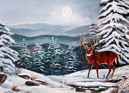 Monarch in Winter by Arie Reinhardt Taylor art print