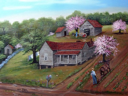 Mosteller Homeplace by Arie Reinhardt Taylor art print