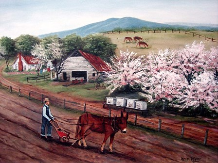 Planting Corn by Arie Reinhardt Taylor art print