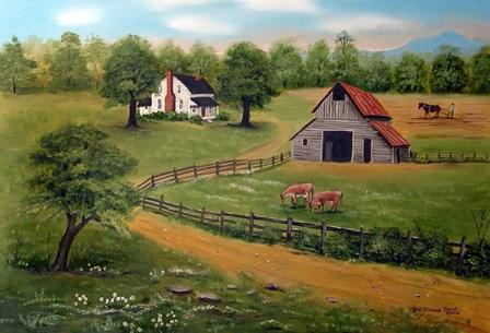 The Farm by Arie Reinhardt Taylor art print