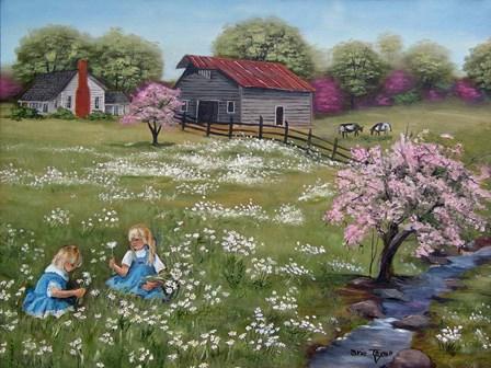 Where Daisies Grow by Arie Reinhardt Taylor art print