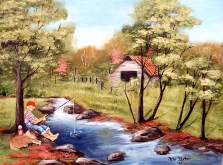 Gone Fishing by Arie Reinhardt Taylor art print