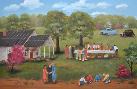 Family Get Together by Arie Reinhardt Taylor art print