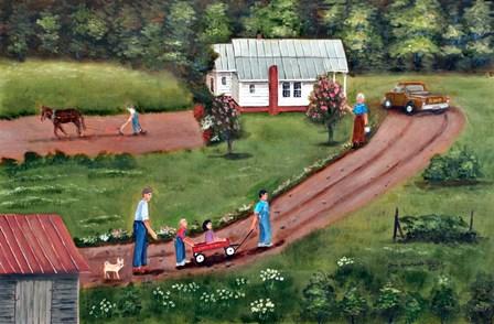The Hildebran Farm by Arie Reinhardt Taylor art print