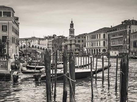 Venice BW by Assaf Frank art print