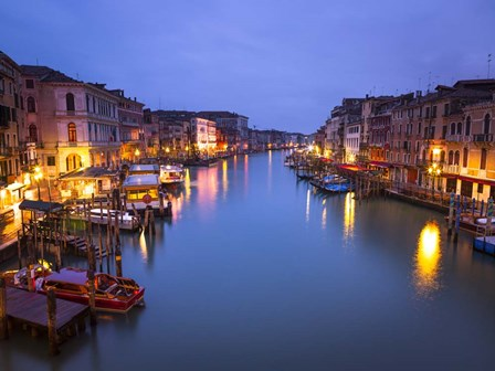 Venice at Dusk by Assaf Frank art print