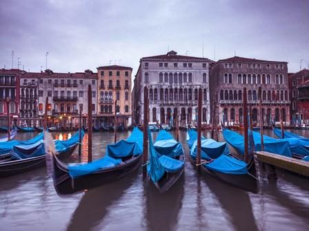 Blue Gondolas 1 by Assaf Frank art print